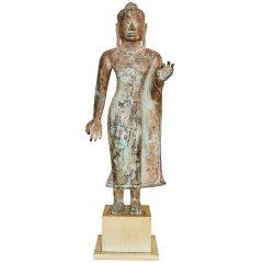 Thai Bronze Figure of Buddha