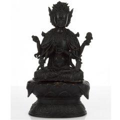 Chinese Bronze Buddha, Ming Period