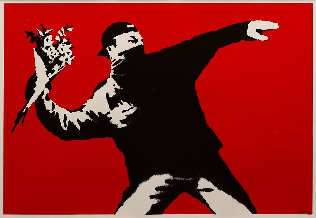 Banksy (English, b. 1974)