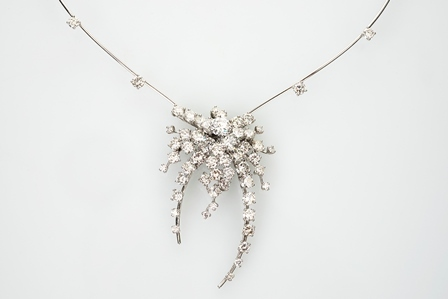 Important Diamond Necklace
