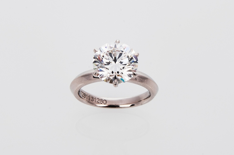 Impressive 4.1ct Diamond Ring