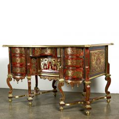 Attributed to Nicolas Sageot, Louis XIV Bureau Mazarin, French c. 1700