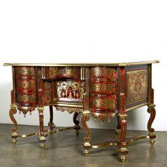 Attributed to Nicolas Sageot, Louis XIV Bureau Mazarin, French c. 1700