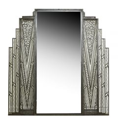 French Art Deco Mirror, c. 1920