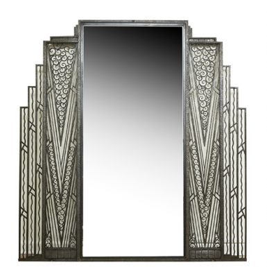 French Art Deco Mirror,c. 1920
