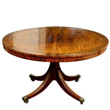 Regency Crossbanded Rosewood Centre Table,c.1820