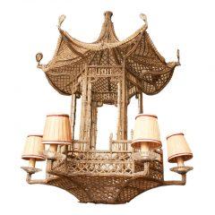 French Pagoda Chandelier