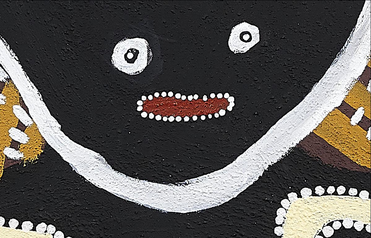 GREER ADAMS FINE ART | JARINYANU DAVID DOWNS & ANATJARI TJAKAMARRA